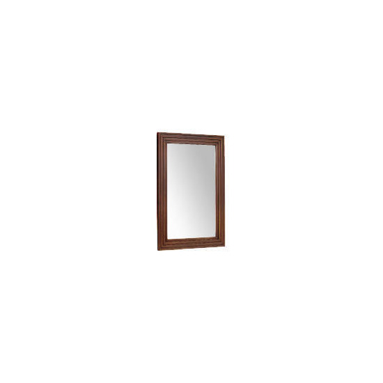 Tesco multi profile wood Mirror 42x62cm