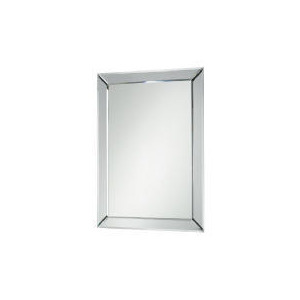Photo of Contemporary Bevelled Mirror 45X64CM Home Miscellaneou