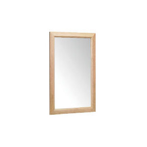 Photo of Tesco Oak Bevelled Mirror 42X64CM Home Miscellaneou