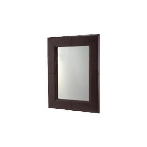 Photo of Faux Leather Mirror 122X92CM Furniture