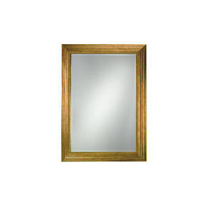 Photo of Gold Ribbed Mirror Home Miscellaneou