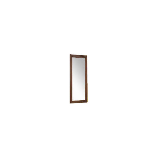 Tesco multi profile wood Mirror 42x100cm