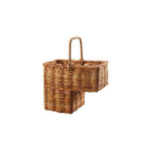 Photo of Rattan Stair Basket Household Storage