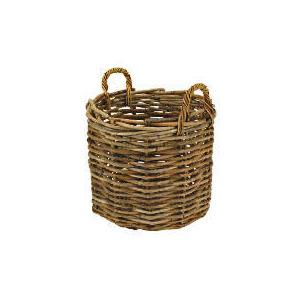 Photo of Rattan Round Basket Household Storage