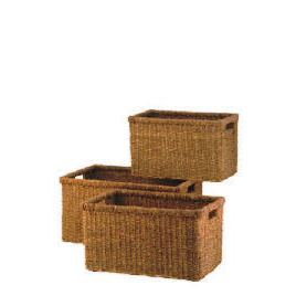 Set of 3 Seagrass baskets Reviews