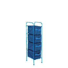 4 Drawer storage tower blue Reviews