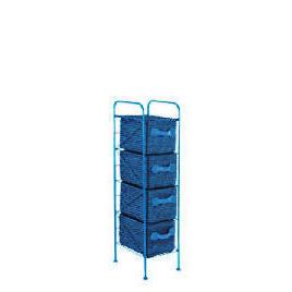 4 Drawer storage tower blue Reviews