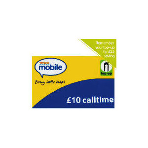 Photo of Tesco Mobile 10 Pounds Top Up Voucher Mobile Phone Accessory