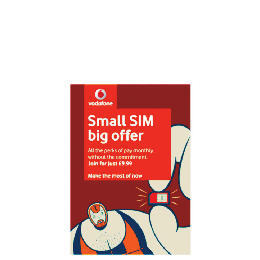 Vodafone 30 day contract SIM Reviews