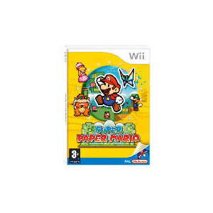 Photo of Super Paper Mario (Wii) Video Game