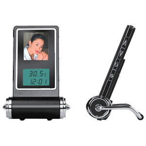 "Photo of Texet 1.5"" Digital Photo Frame & Travel Clock Clock"