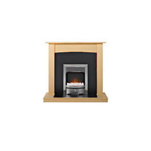 Photo of Valor Contemporary Aukland Electric Fire Suite Electric Heating