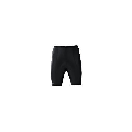 Gents Cycle Shorts Black/Reflective Xl