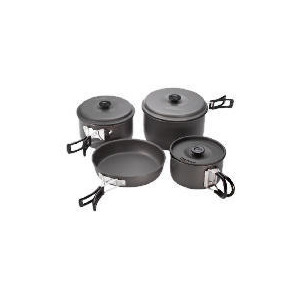 Photo of Campingaz Anodised 8 Pieces Cook Set Cookware