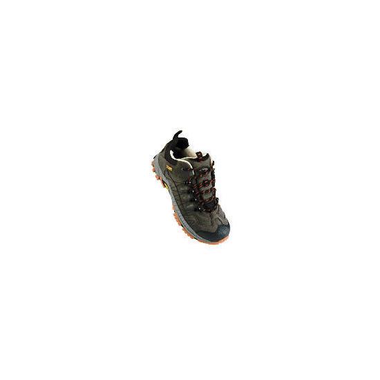 Gelert Langley Mens Shoes 11 Anthracite/Ochre