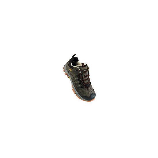 Gelert Langley Mens Shoes 7 Anthracite/Ochre