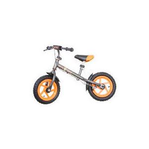 Photo of Steel Balance Bike (Orange/Grey) Childrens Bicycle