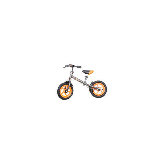 Steel Balance Bike (Orange/Grey)