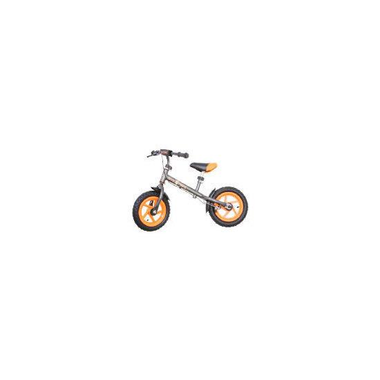 Steel Balance Bike (Orange/Grey)