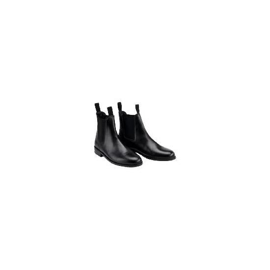 Tesco  Black Jodhpur Boots Size 38/5