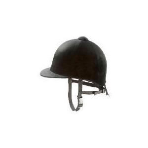 Photo of Tesco Black Horse Riding Helmet 55 cm Sports and Health Equipment