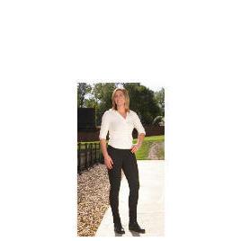 Tesco Ladies Heavy Duty Jodhpurs, Black, Size 14 Reviews