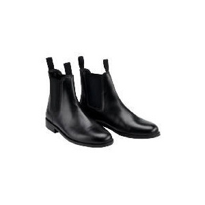 Photo of Tesco  Black Jodhpur Boots Size 40/7 Sports and Health Equipment