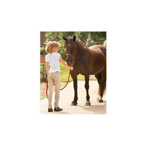 Photo of Tesco Girls Lightweight Rib Jodhpurs, Beige, Age 9-10 Sports and Health Equipment