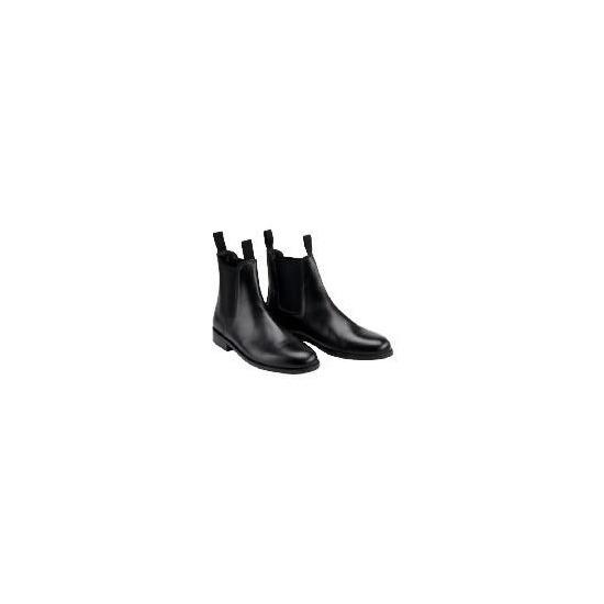 Tesco  Black Jodhpur Boots Size 39/6