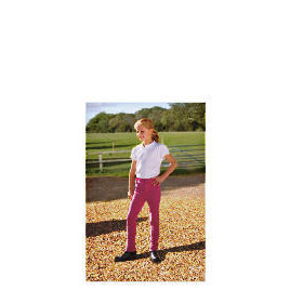 Tesco Girls Heavy Duty Jodhpurs, Pink, Age 7-8 Reviews