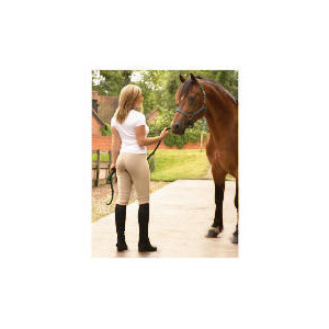 Photo of Tesco Ladies Heavy Duty Jodhpurs, Beige, Size 12 Sports and Health Equipment