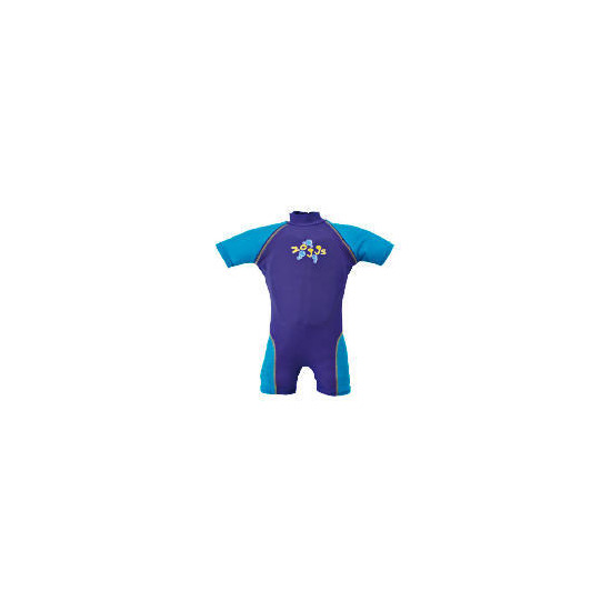 Zoggs Sun Protection Floatsuit Blue 1-2 Years