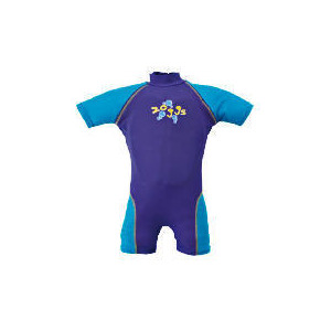 Photo of Zoggs Sun Protection Floatsuit Blue 2-3 Years Sports and Health Equipment