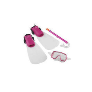 Photo of Speedo Junior Scuba Set Pink Small Sports and Health Equipment