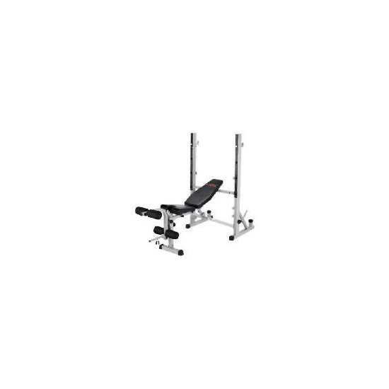 York B540 Heavy Duty Bench + Fly + Lat Curl