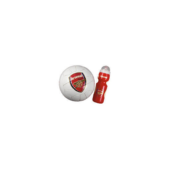 Arsenal Captains Football + Waterbottle