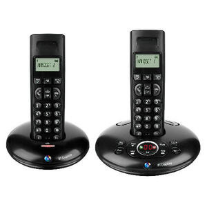 Photo of BT Graphite 1500 Twin Landline Phone