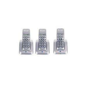 Photo of BT Studio 3100 Silver Triple Landline Phone