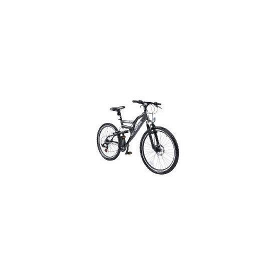 """26"""" Vertigo Eiger Mens Alloy Dual Susp Bike"""