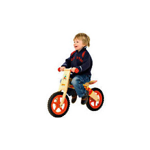 Photo of Wooden Balance Bike Childrens Bicycle