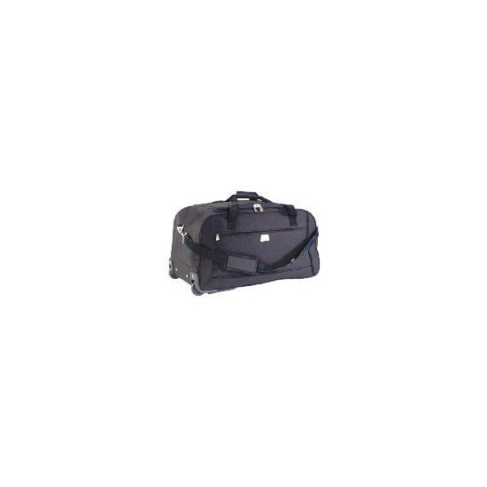 Relic Wheeled Trolley Holdall Black