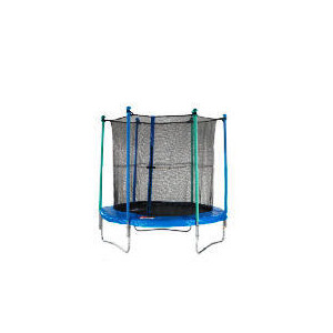 Photo of Body Sculpture 8FT Trampoline With Enclosure and Weather Cover Trampoline
