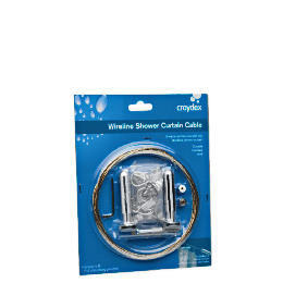 Croydex Wireline Shower Curtain Cable Reviews