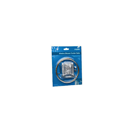 Croydex Wireline Shower Curtain Cable