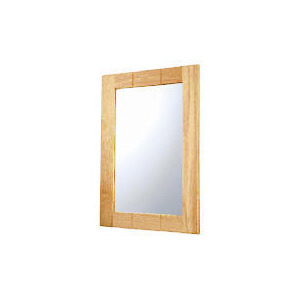 Photo of Light Wood Wall Mounted Mirror Home Miscellaneou