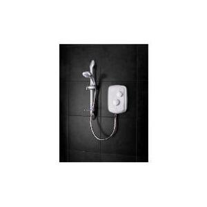 Photo of Triton Osiris Electric Shower, Satin Finish 9.5KW Bathroom Fitting