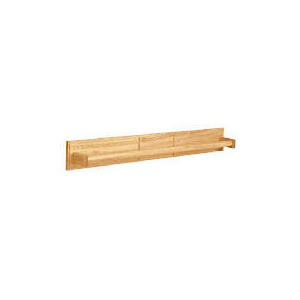 Photo of Light Wood Wall Mounted Towel Rail Home Miscellaneou