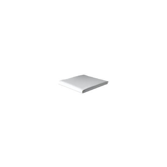 Finest Double Fitted Sheet, White