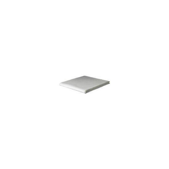Tesco Organic Cotton King Flat Sheet, Cream