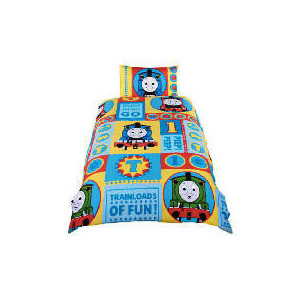 Photo of Thomas The Tank Engine Ready Set Go Duvet Set Bed Linen